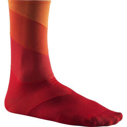 Mavic Graphic Stripes Socks puffin s bill-goji 4346