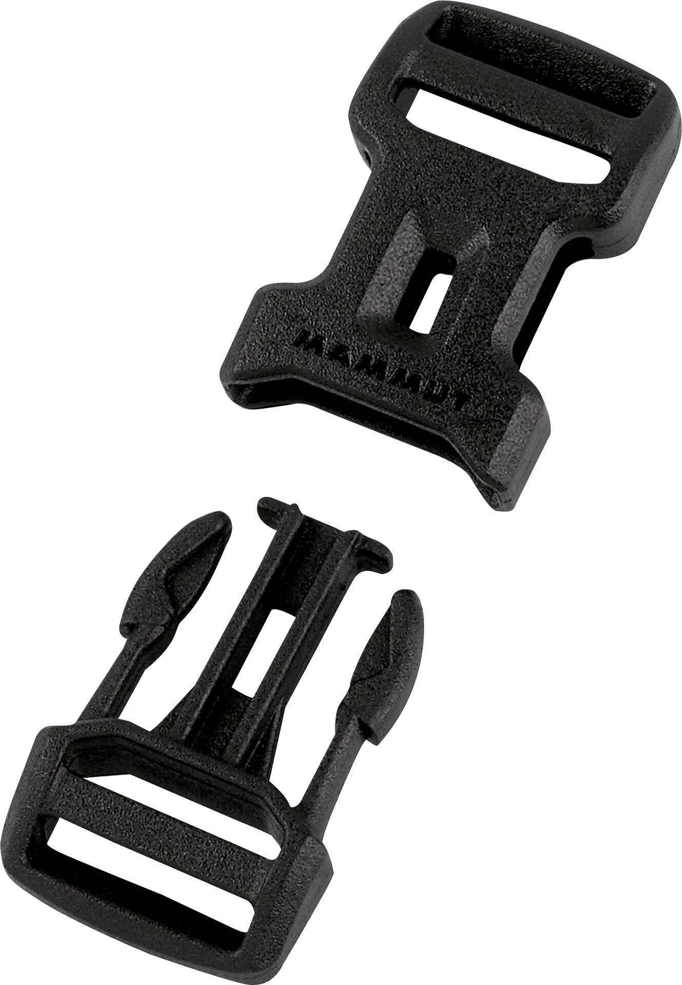 Mammut Dual Adjust Side Squeeze Buckle black (0001) 38 mm