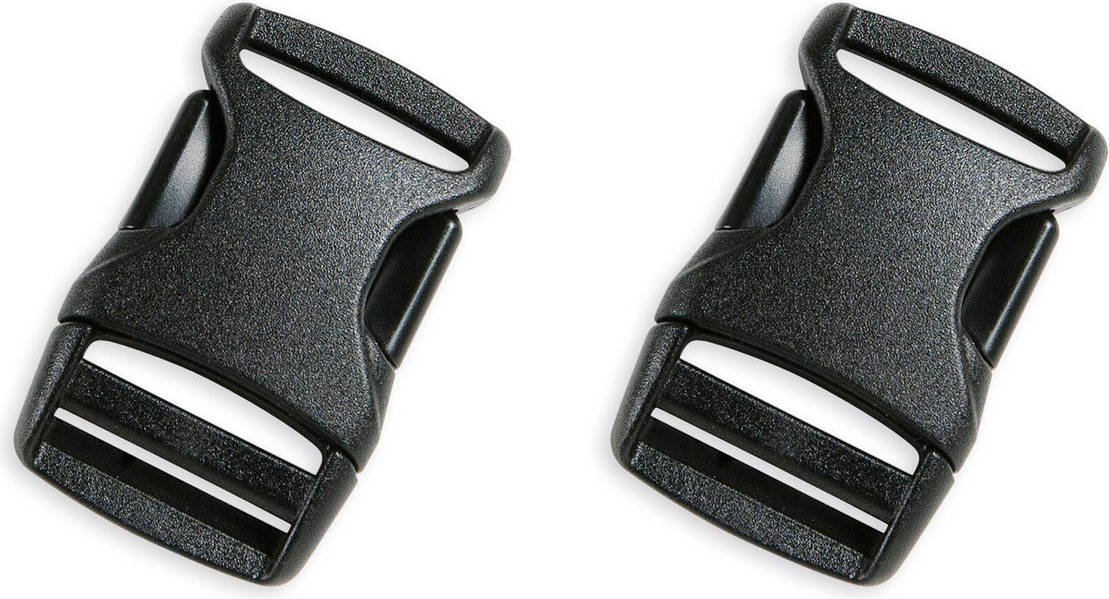 Tatonka Sr-buckle 20mm Paar black (040)