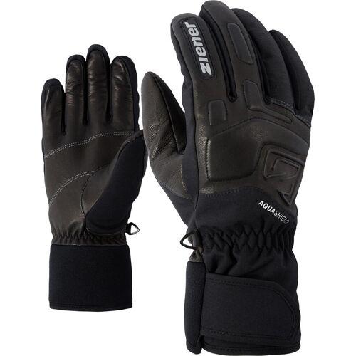 Ziener Glyxus ASR Glove Ski Alpine grey iron tec (869) 6,5