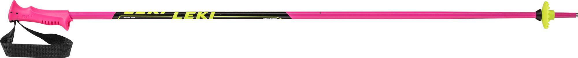 LEKI Racing Kids pink-schwarz-weiss-gelb