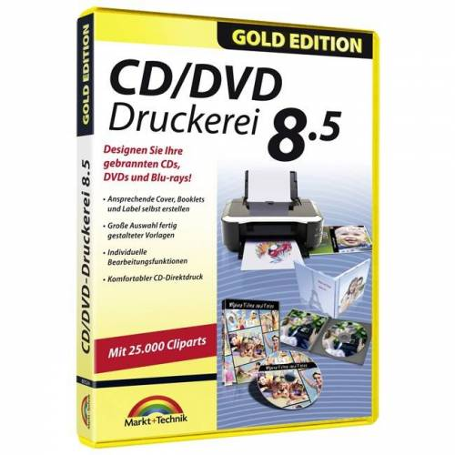 Markt+Technik CD/DVD Druckerei 8.5