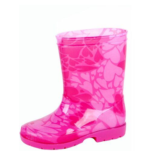Gevavi Rosa Kinder Gummistiefel rosa
