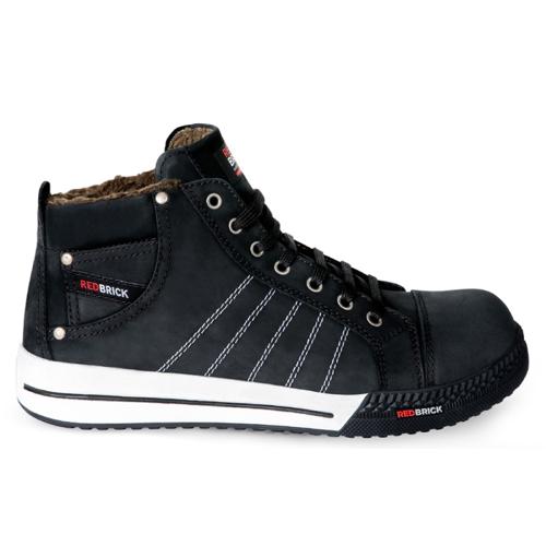 Redbrick Ice Arbeitsschuh-Sneakers schwarz/weiß