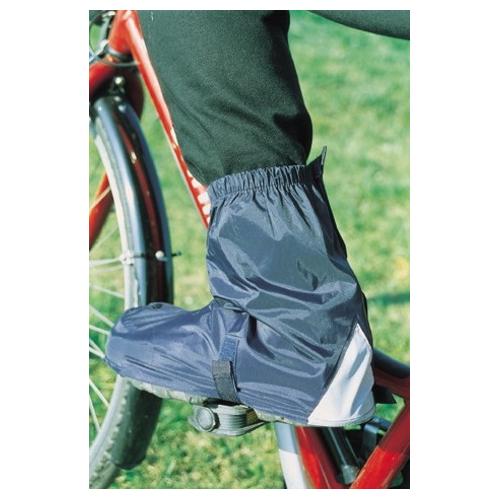 """Hock Fahrrad Gamaschen Überschuh """"gamAs"""" knöchellang, schwarz, Gr.L schwarz"""