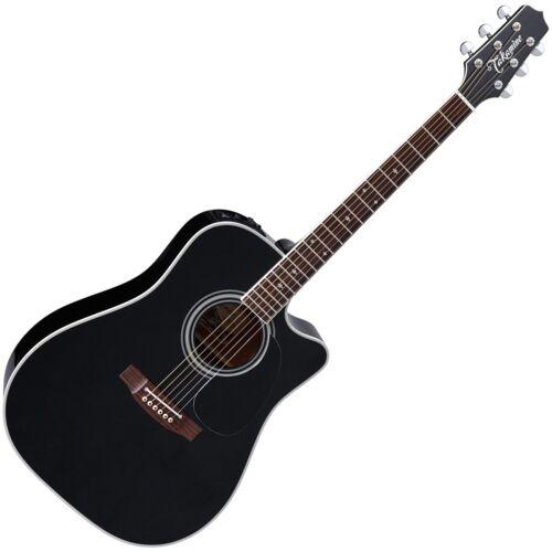 Takamine EF341SC Black Gloss Westerngitarre