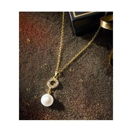 Atlas for Men Halskette mit Perle und Kristallen
