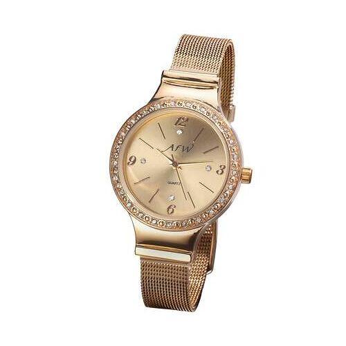 Atlas for Men Elegante Armbanduhr mit Kristallen Einheitsgröße  Damen