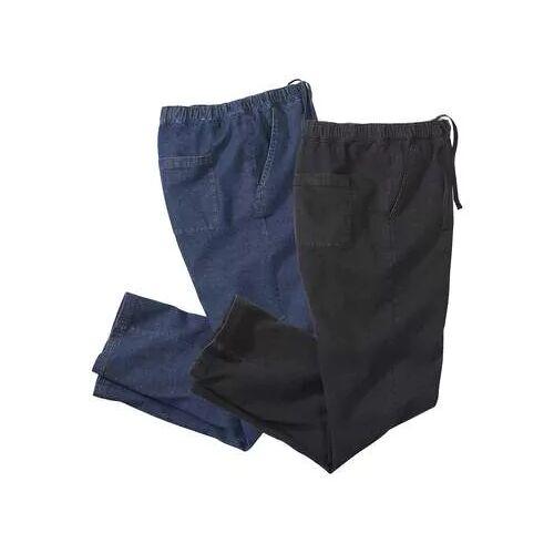 Atlas for Men 2er-Pack bequeme Jeans