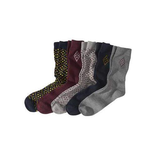 Atlas for Men 5 Paar modische Socken