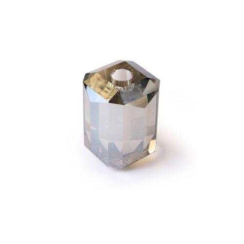 HK Living Glas-Kerzenhalter Kristallgrauer Diamant