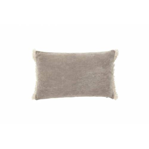Nordal Kissenbezug Sablons aus grauem Samt