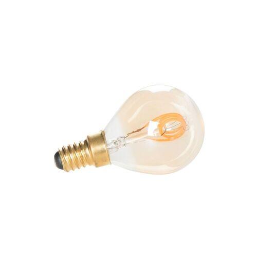 White Label Glühbirne E14 Gold