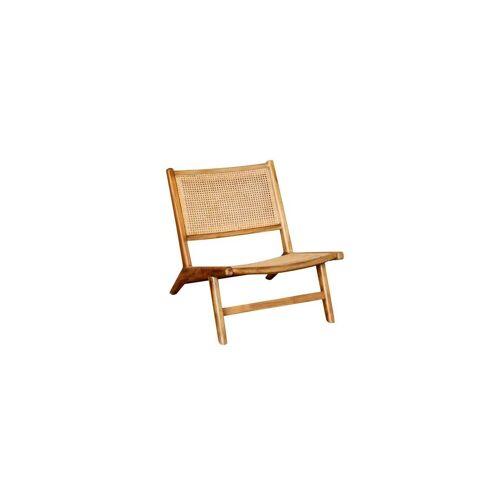 Chehoma Sessel mit Sitz und Rückenlehne aus Korbgeflecht Husson