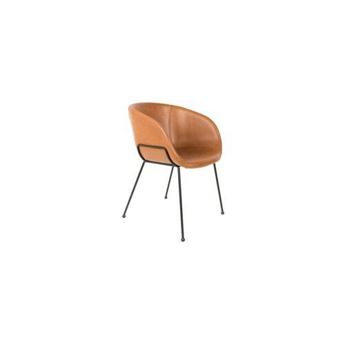 Zuiver Festoon Brauner Sessel