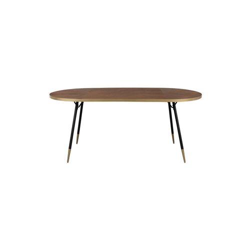 White Label Ovaler Tisch Denise