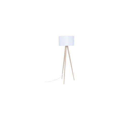 Zuiver Stehlampe Dreibeinstativ Wood Weiß