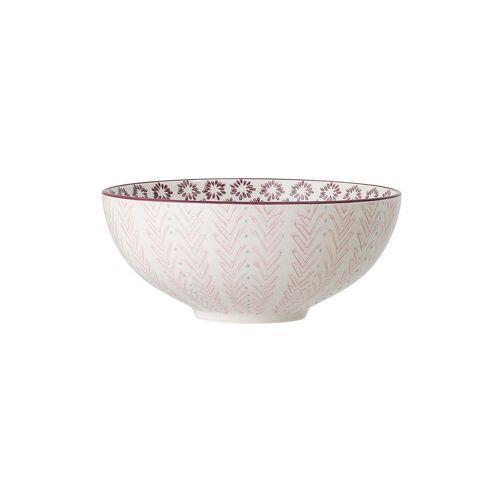 Bloomingville Salatschüssel Maya aus rosa Stein