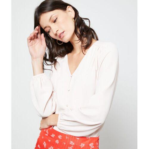 Etam Bluse mit v-ausschnitt