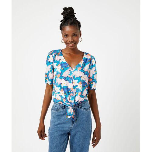 Etam Bluse mit floralem print