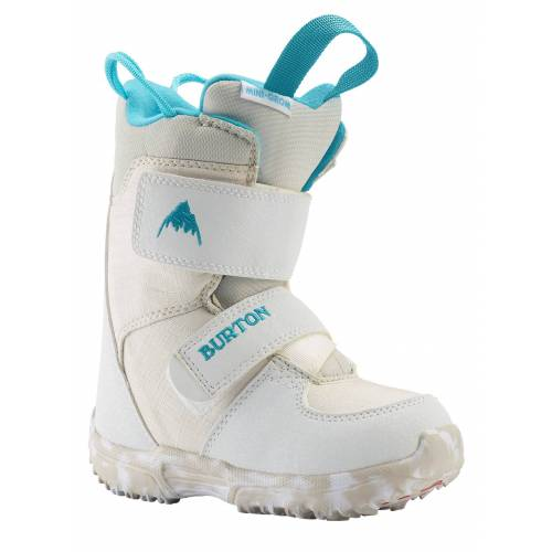 Burton Mini-Grom Snowboardboots für Kleinkinder, White, 9C