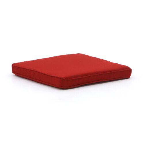 Madison Wicker Sitzkissen 42x42 cm  Rot
