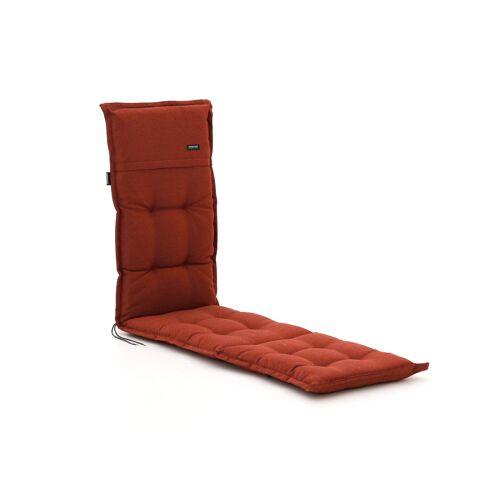 Madison Auflage für Deckchair 200x50  cm  Rot