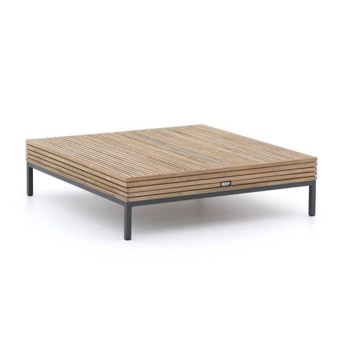 Rough Gartenmöbel ROUGH-D Loungetisch 110x110 cm  Braun