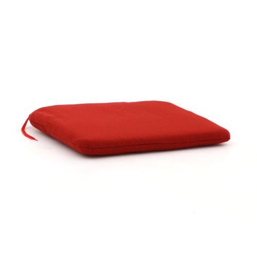 Madison Sitzkissen Schalenstuhl 48x46 cm  Rot