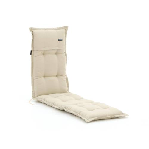 Madison Deckchair Auflage 200x50 cm  Weiß