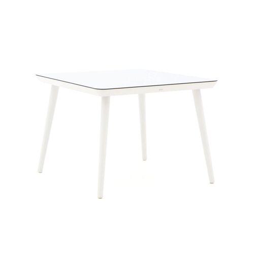Hartman Gartenmöbel Hartman Sophie Studio Esstisch 100x100 cm  Weiß