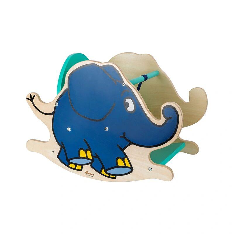small foot® Schaukelelefant DIE MAUS MIT DEM ELEFANTEN aus Holz