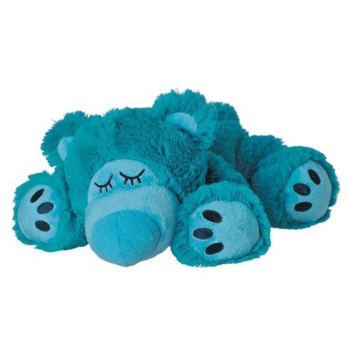 Warmies® Wärmestofftier SLEEPY BEAR mit Hirse/Lavendel (31 cm) in türkis