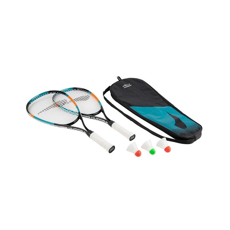 Hudora Badminton-Set SPEED 6-teilig in grün/rot