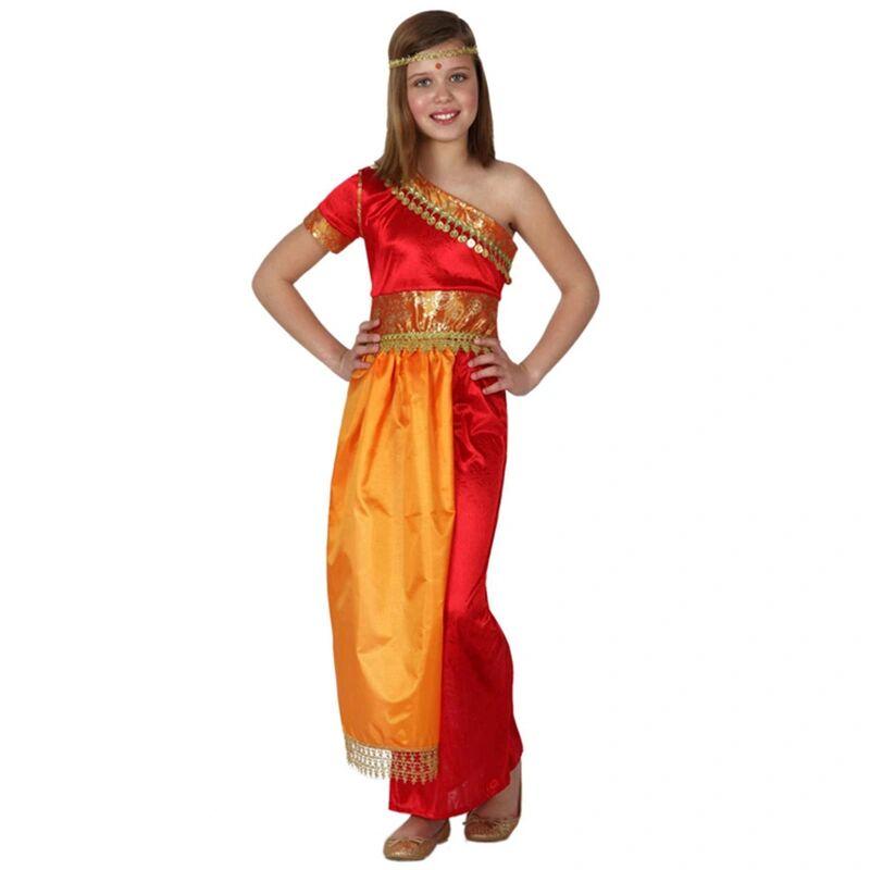atosa Kostüm HINDU in orange/rot