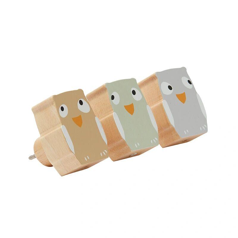 Kids Concept Garderobenhaken EULE EDVIN 3-teilig aus Holz