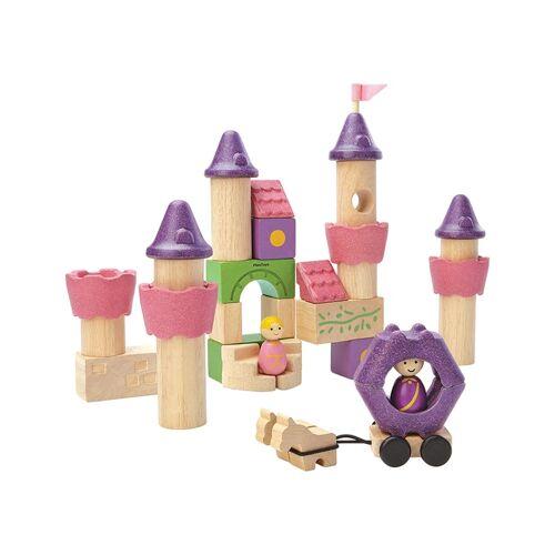 Plan Toys Holz-Bauklötze MÄRCHEN 35-teilig