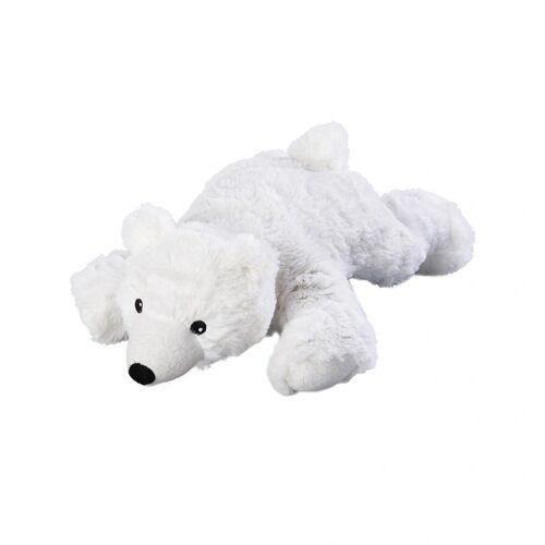Warmies® Wärmestofftier EISBÄR mit Hirse/Lavendel in weiß