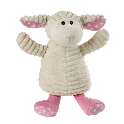 Warmies® Wärmestofftier PURE SCHAF PÜNKTCHEN mit Hirse/Lavendel in weiß