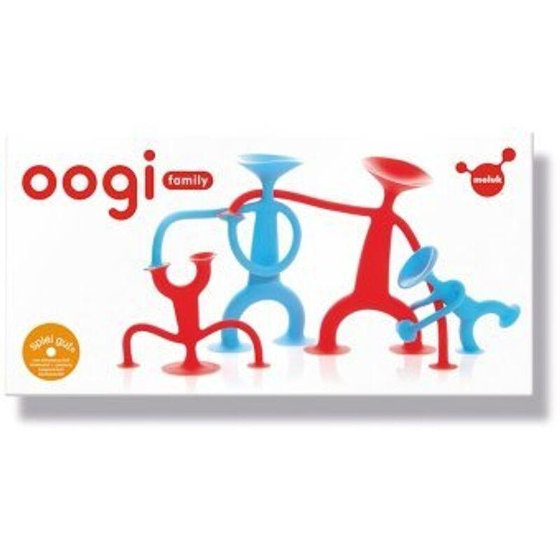 Moluk Lernspiel OOGI FAMILY in rot/blau