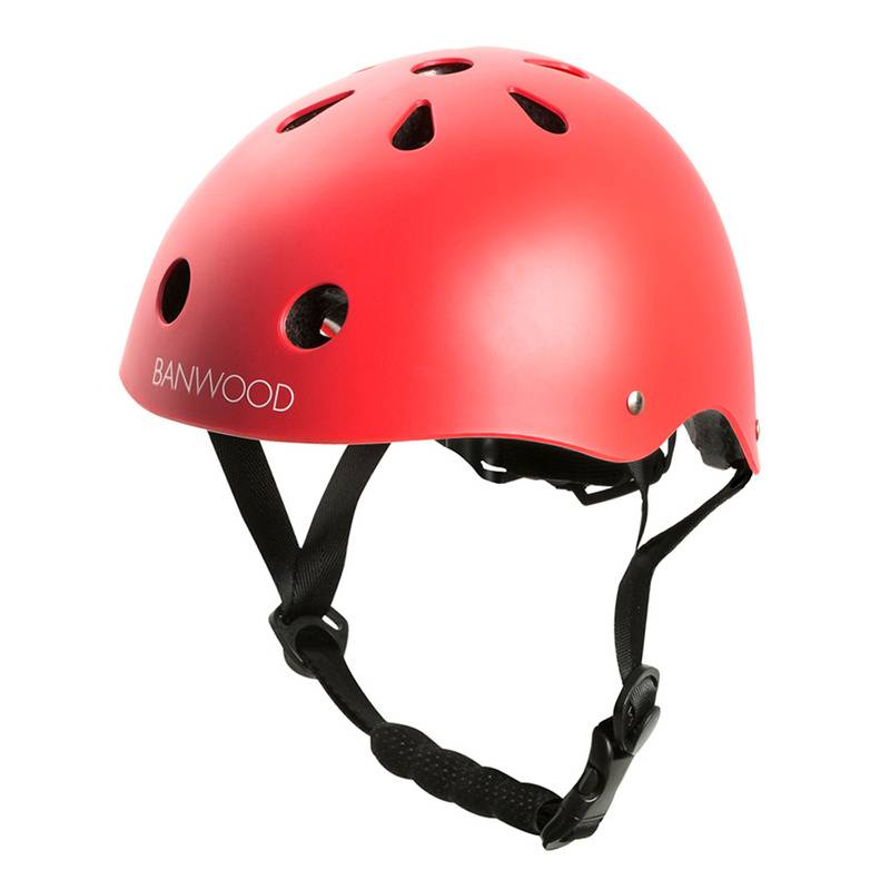 Banwood Kinder-Fahrradhelm FIRST GO in rot