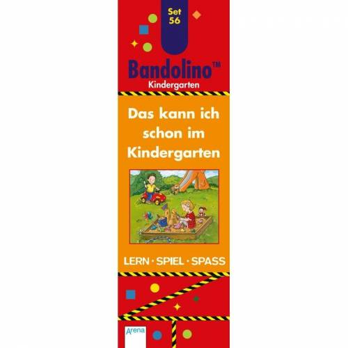 ARENA Bandolino (Spiele): Set.56 Das kann ich schon im Kindergarten (Kinderspiel)