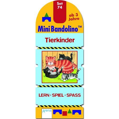 ARENA MiniBandolino (Spiele): Set.74 Tierkinder (Kinderspiel)