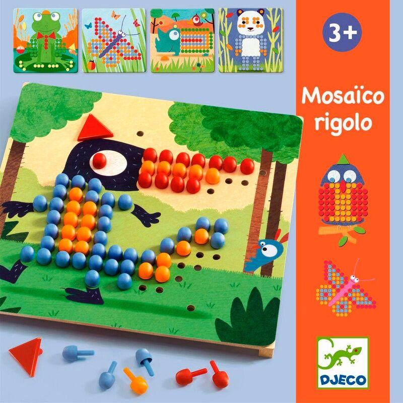 Djeco - Mosaico rigolo  Steckspiel