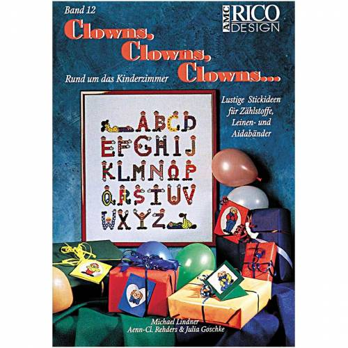 Rico Design Clowns, Clowns, Clowns Nr.12