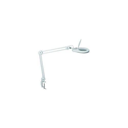 Maul LED-Lupenleuchte viso mit Klemmfuß - Weiß