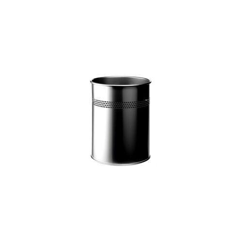 Durable Papierkorb 3300 - Silber