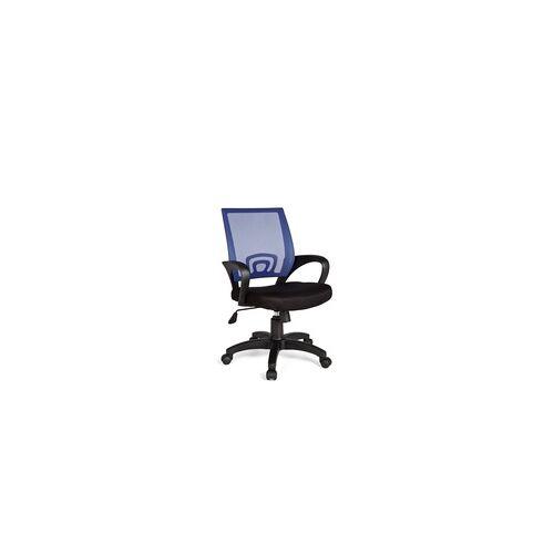 Amstyle Home Office Bürostuhl Rivoli - Blau