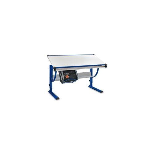 Wohnling Kinderschreibtisch Moritz 118 x 60 cm - Weiß-Blau