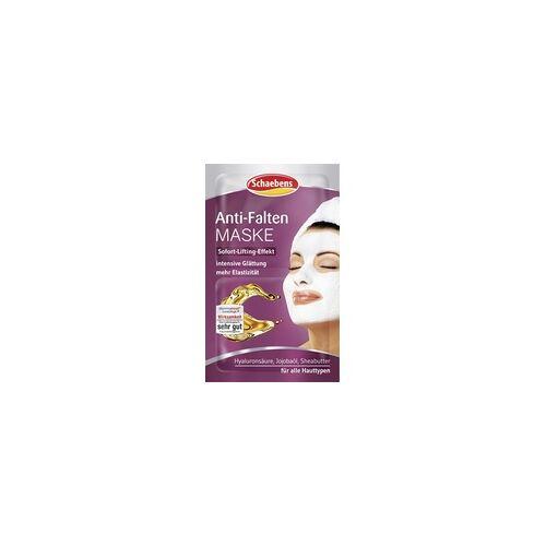 Schaebens 2x 5ml Schaebens Anti Falten Gesichtsmaske Maske Sofort Lifting Effekt Straffung